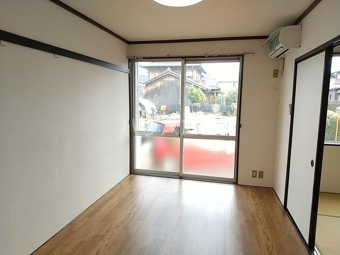 スカイハイツ 102号室のキッチン