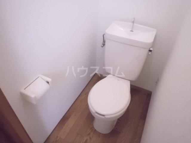 富士美ハイツ 203号室のトイレ
