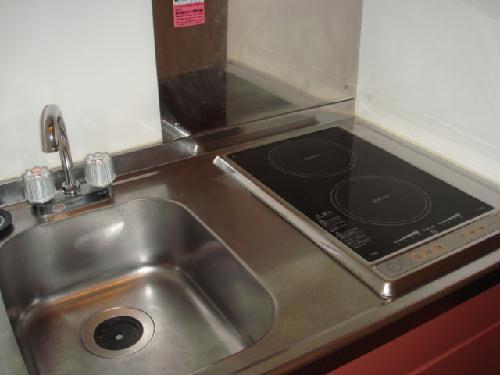 レオパレスコンフォート吉良 102号室のキッチン