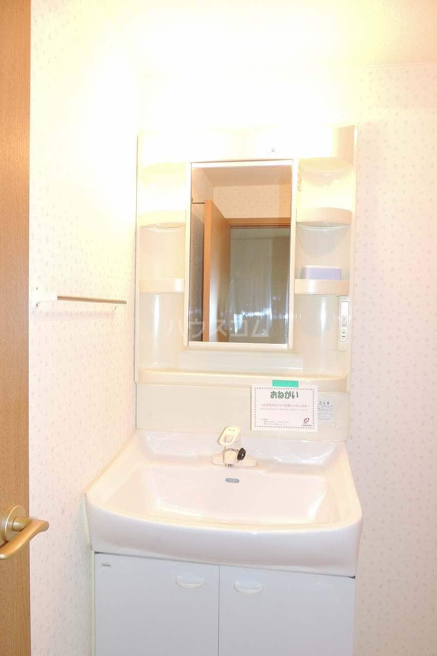 オーブリー 森 02030号室の洗面所