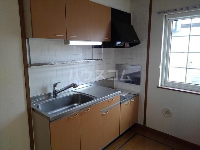 フジハイムⅢ 01020号室のキッチン