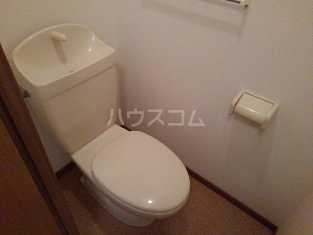 フジハイムⅢ 01020号室のトイレ
