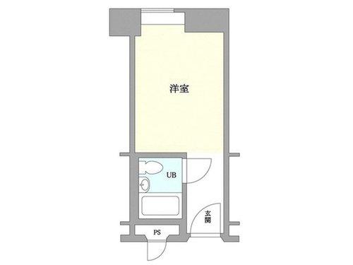 シャトレーイン東京笹塚 620号室の間取り