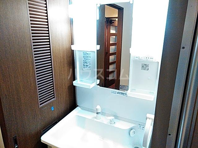 クレアージュ大倉山 107号室の洗面所