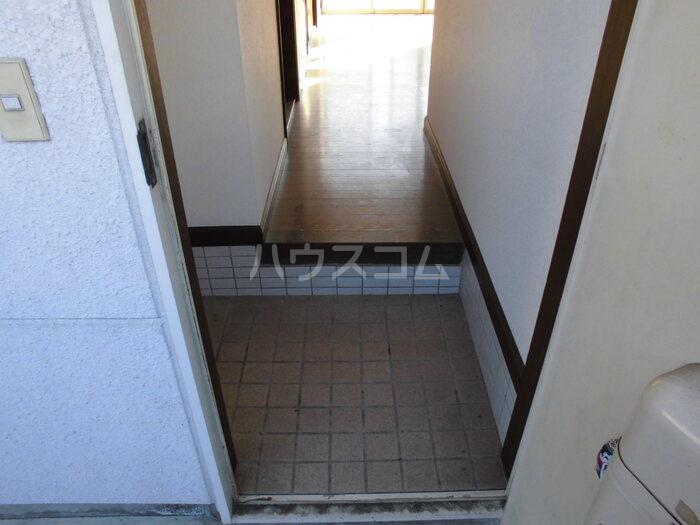 MBCハイツ B 105号室の玄関
