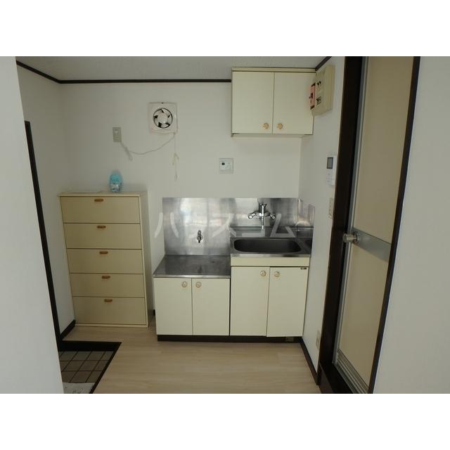 スマイルハウス第3 203号室のキッチン