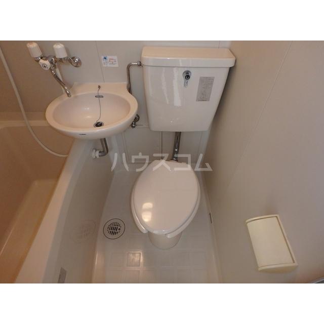 スマイルハウス第3 203号室のトイレ
