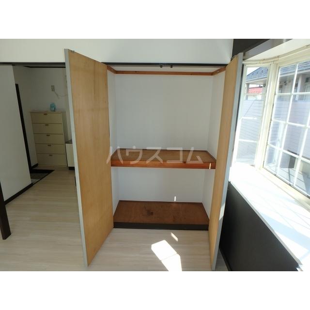 スマイルハウス第3 203号室の収納