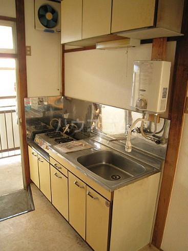 コーポもちの木 103号室のキッチン
