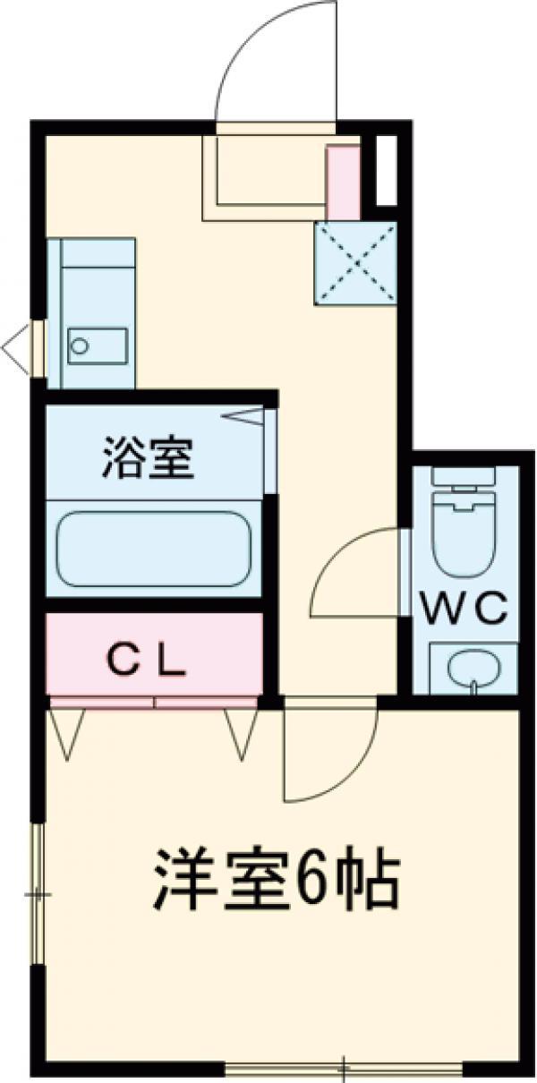 AI東浅川 101号室の間取り