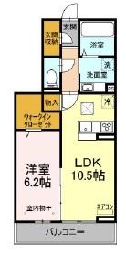 仮)Dーroom小室町・103号室の間取り