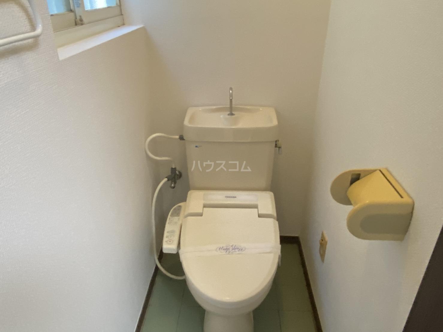 太秦皆正寺貸家のトイレ