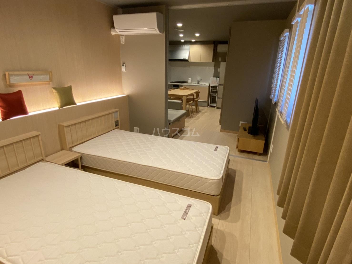 サンライズ西ノ京 401号室のベッドルーム