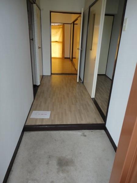 柏原農住団地K棟 107号室の玄関
