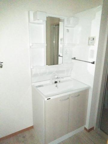 ミレニアムK2 A 102号室の洗面所