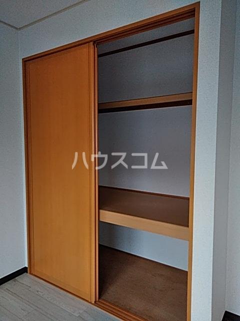 モナーチハイツ A201号室の収納