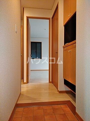 モナーチハイツ A201号室の玄関