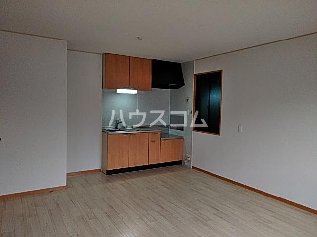 モナーチハイツ A201号室のキッチン