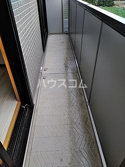 モナーチハイツ A201号室のバルコニー
