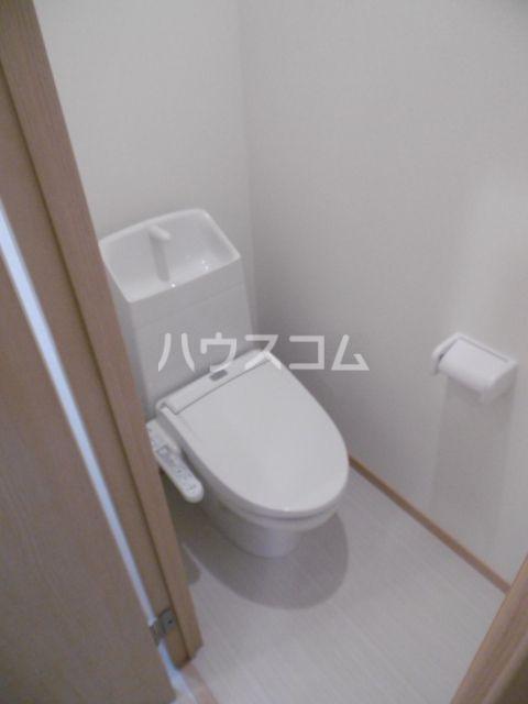 リガヤ北松戸 104号室のトイレ
