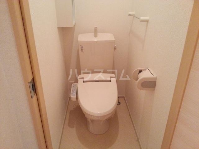 メゾンラフレシールⅡ 01020号室のトイレ