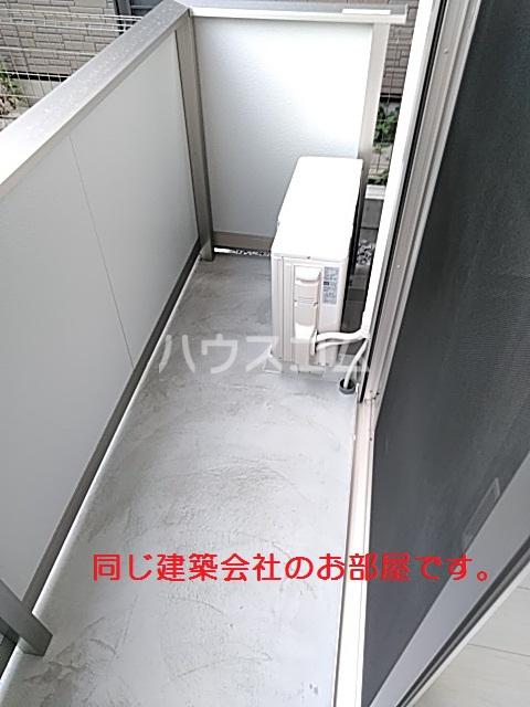 仮)D-room篠木町1丁目 201号室のバルコニー
