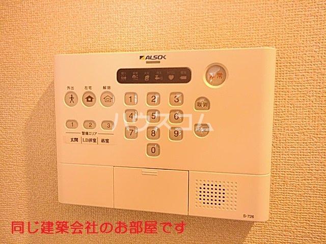 仮)D-room篠木町1丁目 201号室のセキュリティ