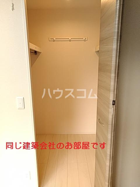 仮)D-room篠木町1丁目 201号室の収納