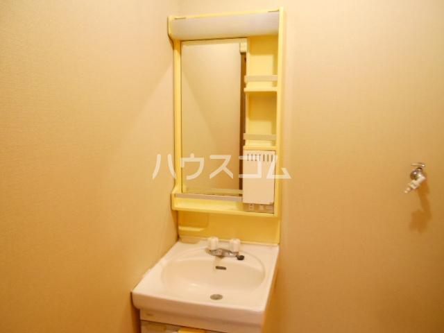レジデンス田中第一の洗面所