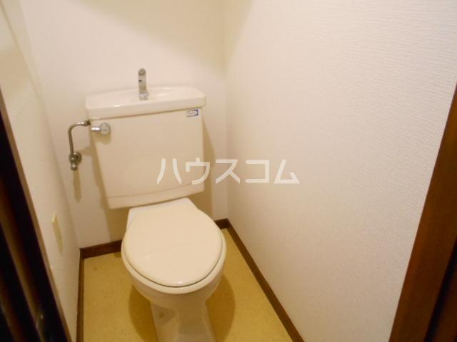 レジデンス田中第一のトイレ