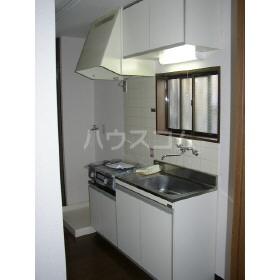 メゾンドグレイス 201号室のキッチン