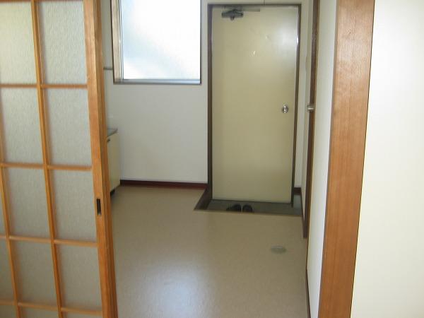 ニワハイツ 301号室の玄関