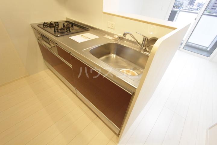 あいりす浄水 2-B号室のキッチン