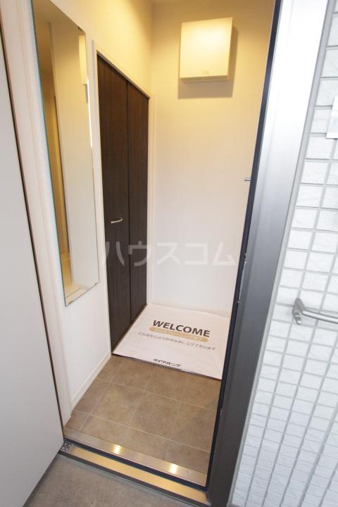 あいりす浄水 2-B号室の玄関