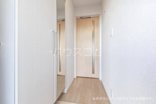 ソレアード 01020号室の玄関