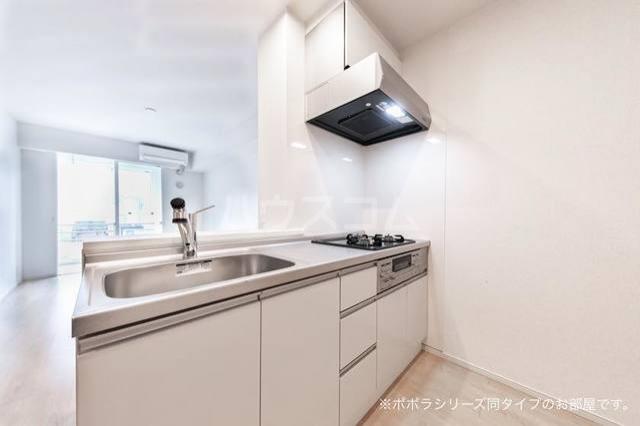 ソレアード 01030号室のキッチン