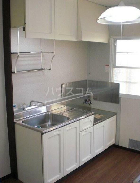 光ヶ丘ロジュマンC 203号室のキッチン