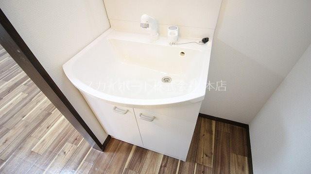 ハイツマルミB 102号室の洗面所
