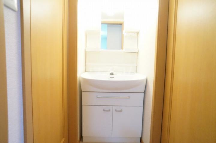ミニョン723B 01030号室の洗面所