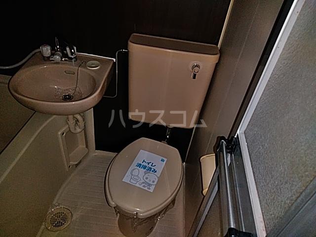 パルテアN 101号室のトイレ