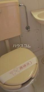 サンライズマツド 102号室のトイレ