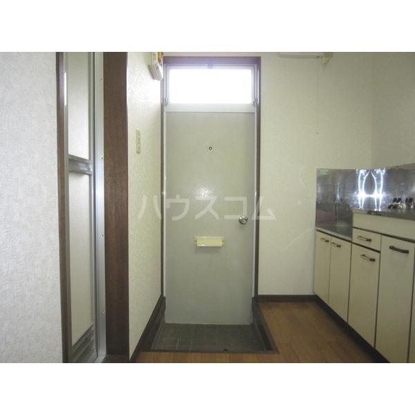 トサキハイツⅠ 105号室の玄関