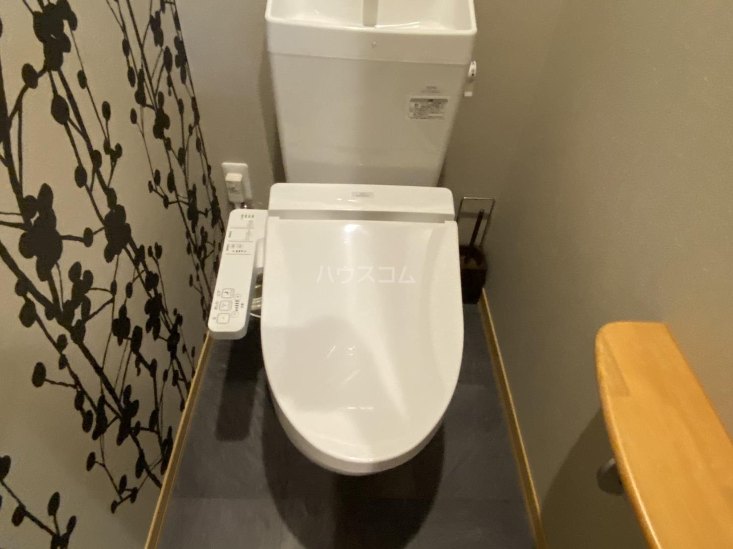 サンライズ西ノ京 303号室のトイレ