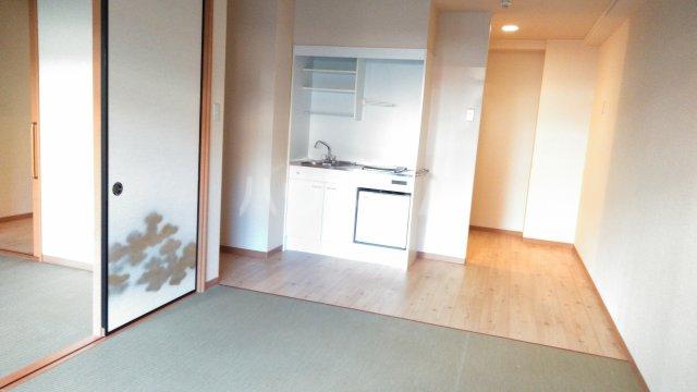 嵐山グランツガルテン 102号室のリビング