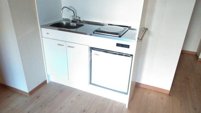 嵐山グランツガルテン 102号室のキッチン