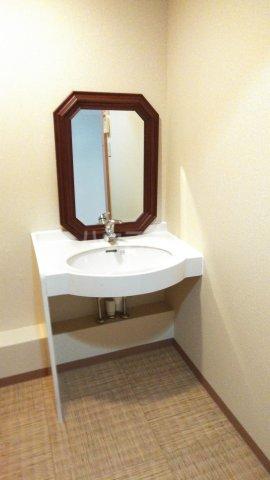嵐山グランツガルテン 102号室の洗面所