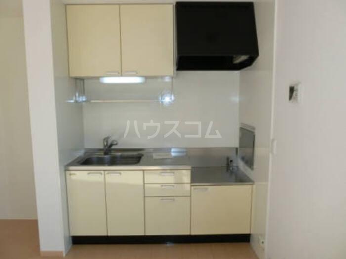 グランドソレイユ B 202号室のキッチン
