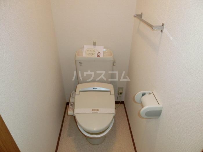 ヴィラ・シェソワ A 102号室のトイレ