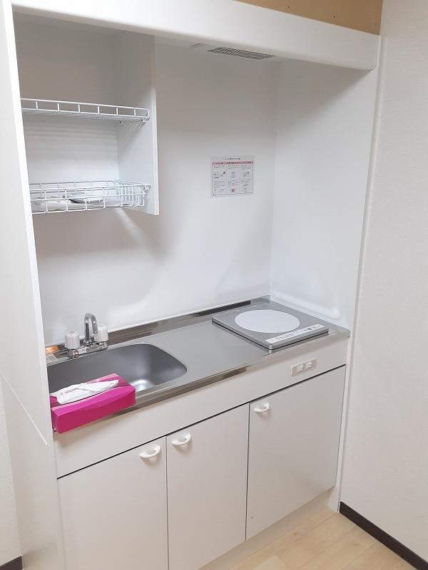 ハイムアキ 103号室のキッチン