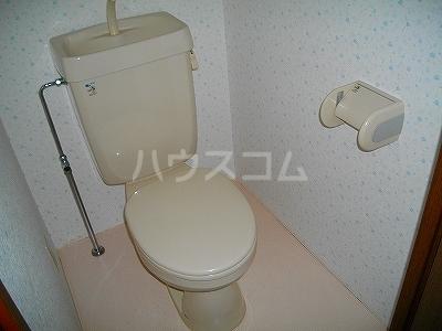 ファミーユ 4A号室のトイレ